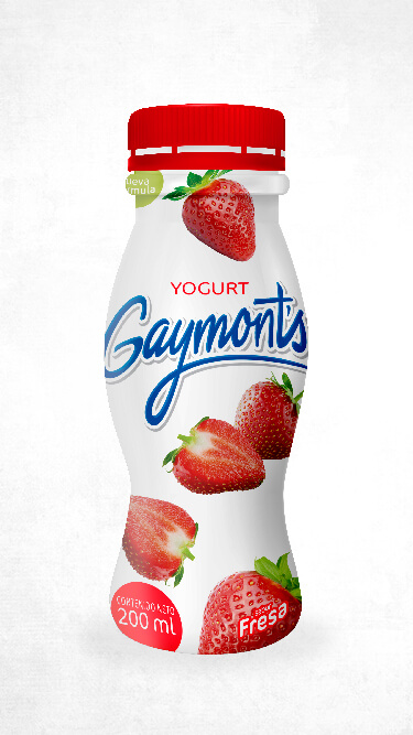 Yogurt Gaymont's sabor fresa 200 ml