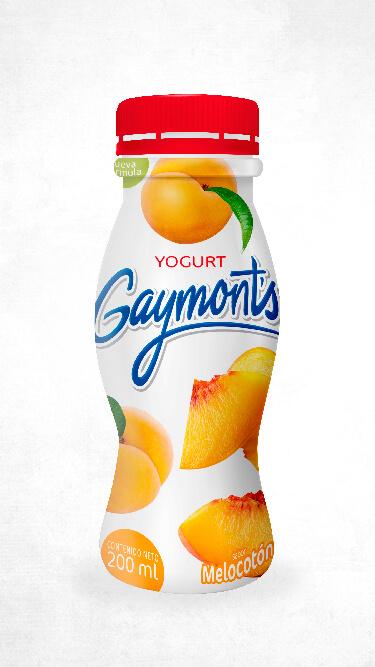Yogurt Gaymont's sabor melocotón 200 ml