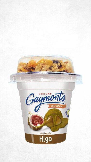 Yogurt Gaymont's sabor higo cereal