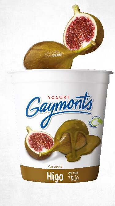 Yogurt Gaymont's sabor higo 1 Kilo