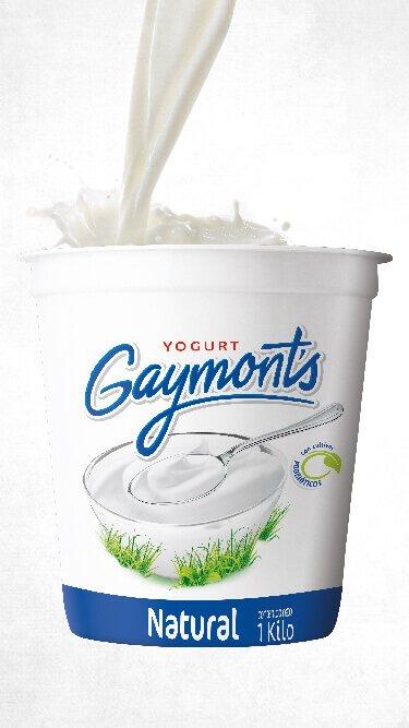 Yogurt Gaymont's sabor natural 1 Kilo