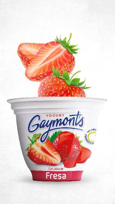 Yogurt Gaymont's sabor fresa 125 g