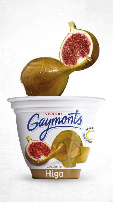 Yogurt Gaymont's sabor higo 125 g