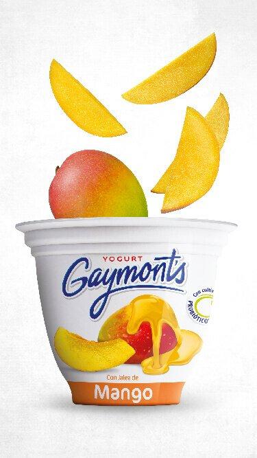 Yogurt Gaymont's sabor mango 125 g