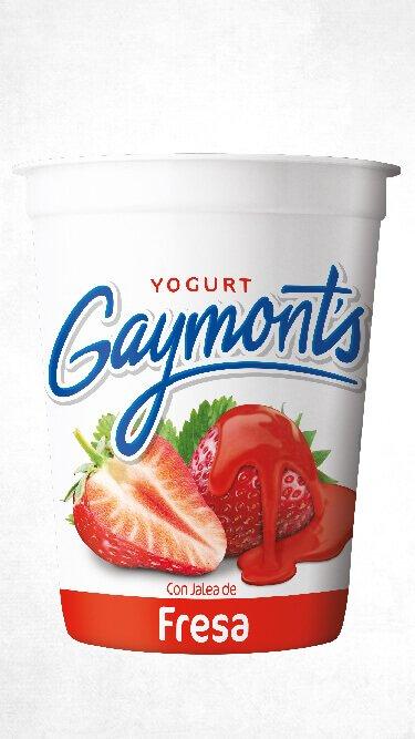 Yogurt Gaymont's sabor fresa 1.25 Kilos