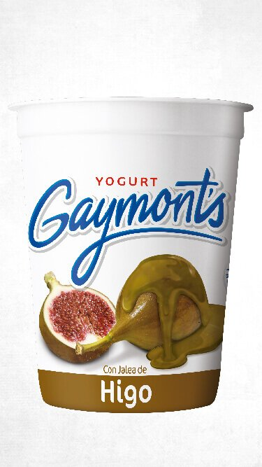 Yogurt Gaymont's sabor higo 1.25 Kilos