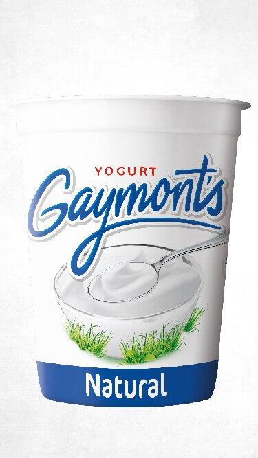 Yogurt Gaymont's sabor natural 1.25 Kilos